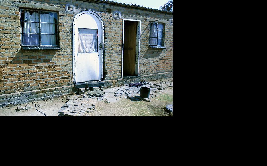 Patience Chikomo's home in Goromonzi was vandalised during the 2008 election. (Photo: Gamuchirai Masiyiwa)