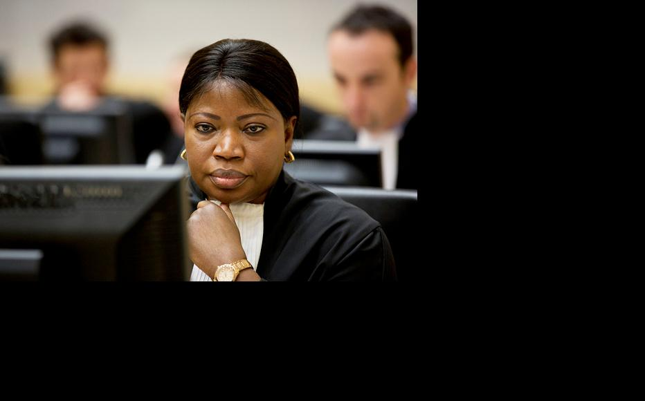 ICC Prosecutor Fatou Bensouda in Courtroom 1 of the International Criminal Court in The Hague. (Photo: ICC-CPI/Flickr)