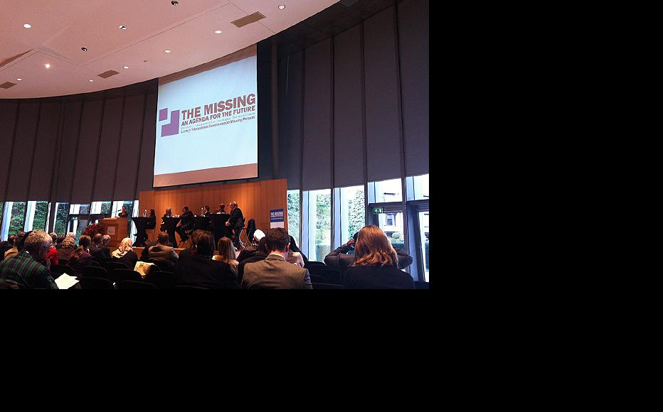 ICMP conference in The Hague. (Photo: Rachel Irwin)