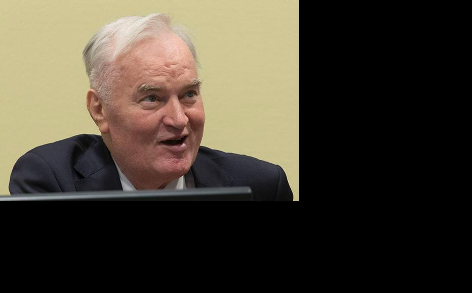 Former Bosnian military chief Ratko Mladic appears for the pronouncement of the Trial Judgement for the International Criminal Tribunal for the former Yugoslavia (ICTY) on November 22, 2017 in The Hague, The Netherlands. (Photo: Michel Porro/Getty Images)