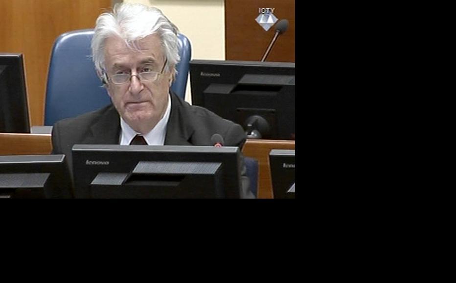 Radovan Karadzic in the courtroom this week. (Photo: ICTY)