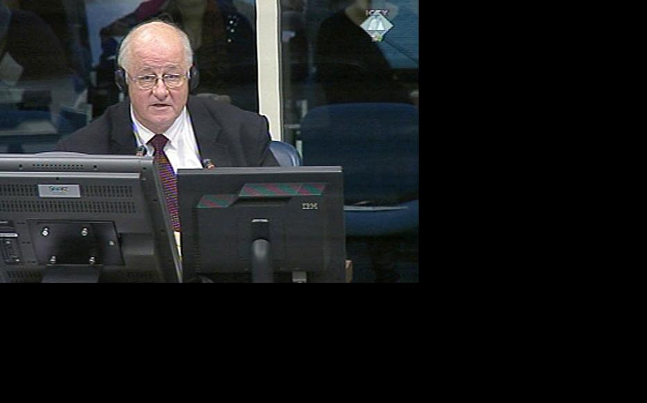 Andras Riedlmayer, expert witness who gave testimony in the trial of former Bosnian Serb army chief Ratko Mladic. (Photo: ICTY)