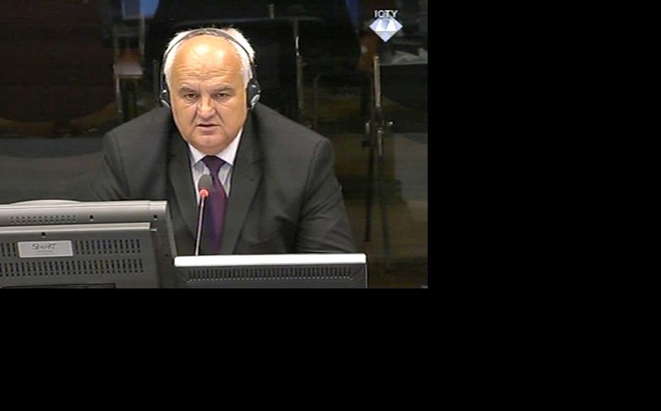 Dragomir Keserovic, prosecution witness in the Ratko Mladic trial. (Photo: ICTY)