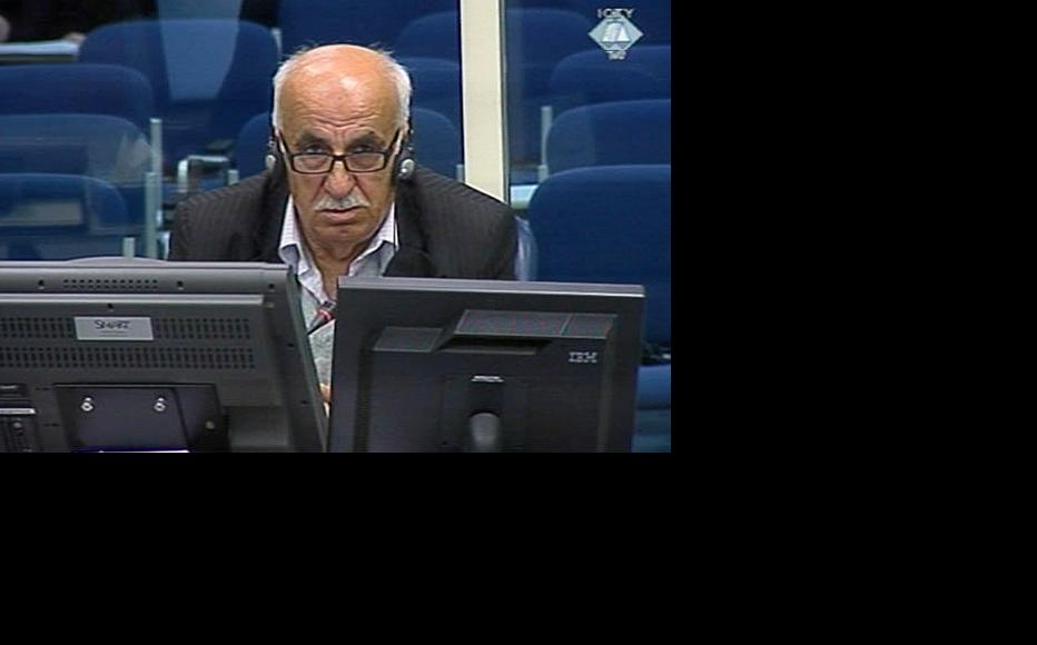 Ismet Svraka, a prosecution witness in the trial of Ratko Mladic. (Photo: ICTY)