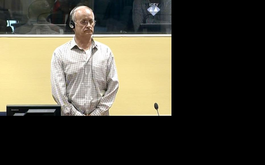 Radislav Krstic in the ICTY courtroom. (Photo: ICTY)