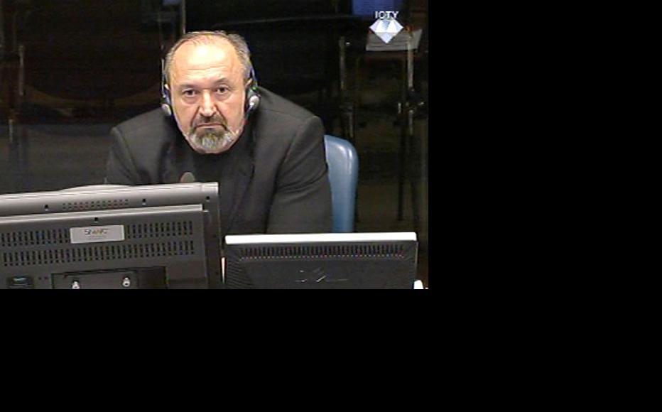 Vujadin Popovic, defence witness in the Karadzic trial. (Photo: ICTY)