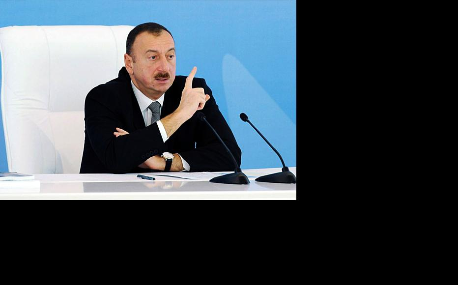 President Ilham Aliyev of Azerbaijan. (Photo: Azertag news agency)