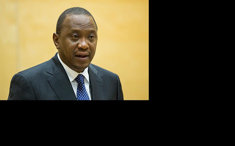 Kenyatta appeared before the ICC's judges in October 2014.The court's prosecutor has been unable to secure sufficient evidence to put Kenya's president on trial. (Photo: ICC-CPI/Flickr)