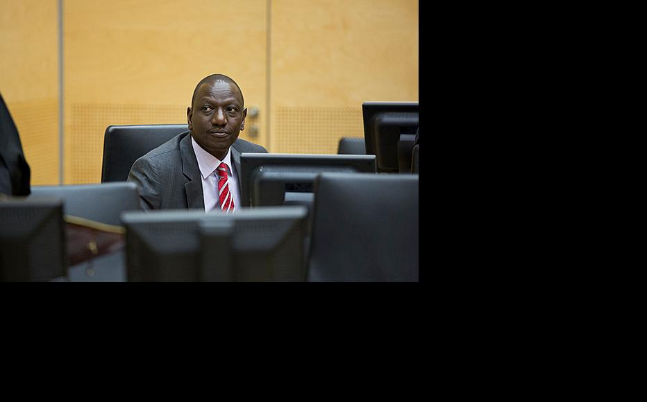 William Ruto in an ICC courtroom in The Hague. (Photo: ICC-CPI/Flickr)