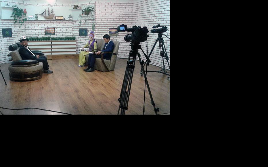 Ayan TV channel studio. (Photo: Ayan TV)