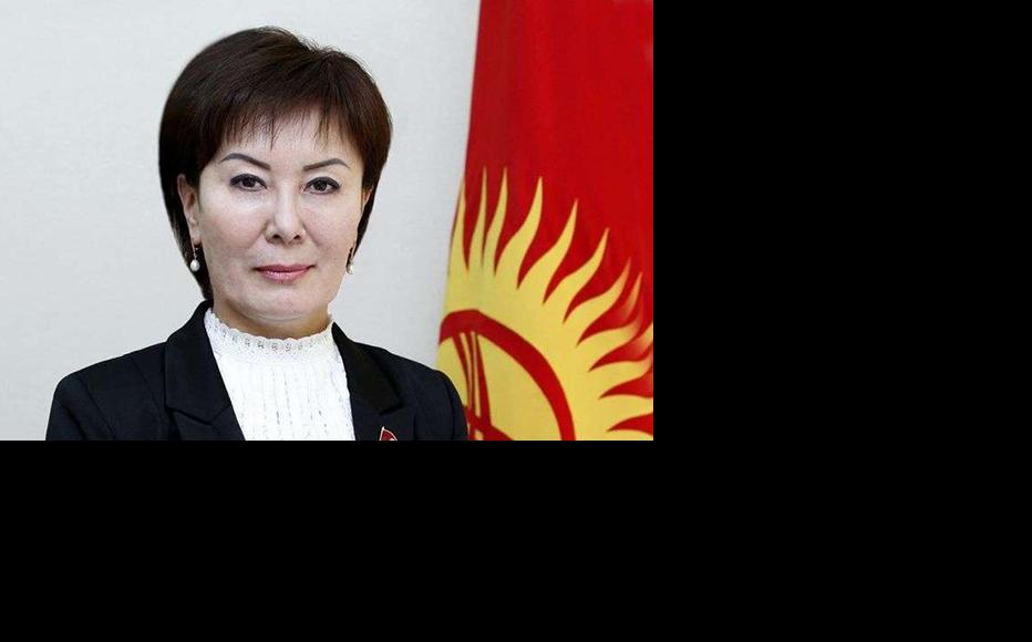 Gulshat Asylbayeva, main initiator of the draft law. (Photo: Kyrgyz parliament's official website kenesh.kg)