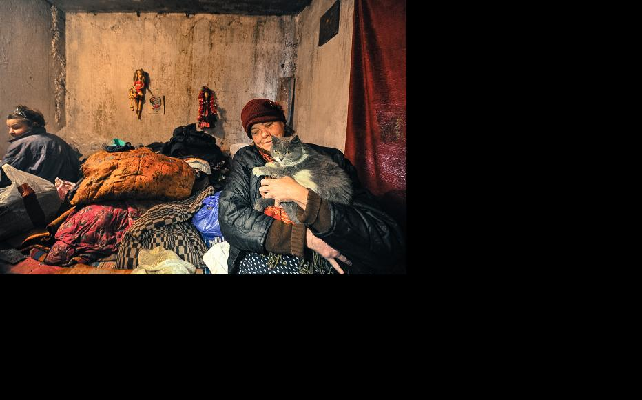 There are about 3500 homeless people in Bishkek, the capital of Kyrgyzstan. (Photo: Vyacheslav Oseledko)
