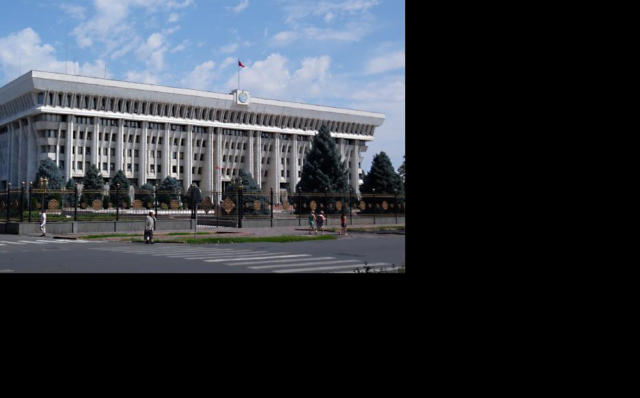 The parliament building in Bishkek. (Photo: Alex J. Butler/Flickr)