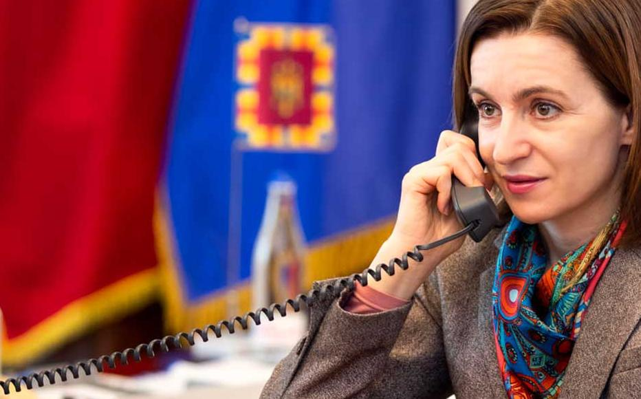 President of Moldova Maia Sandu.