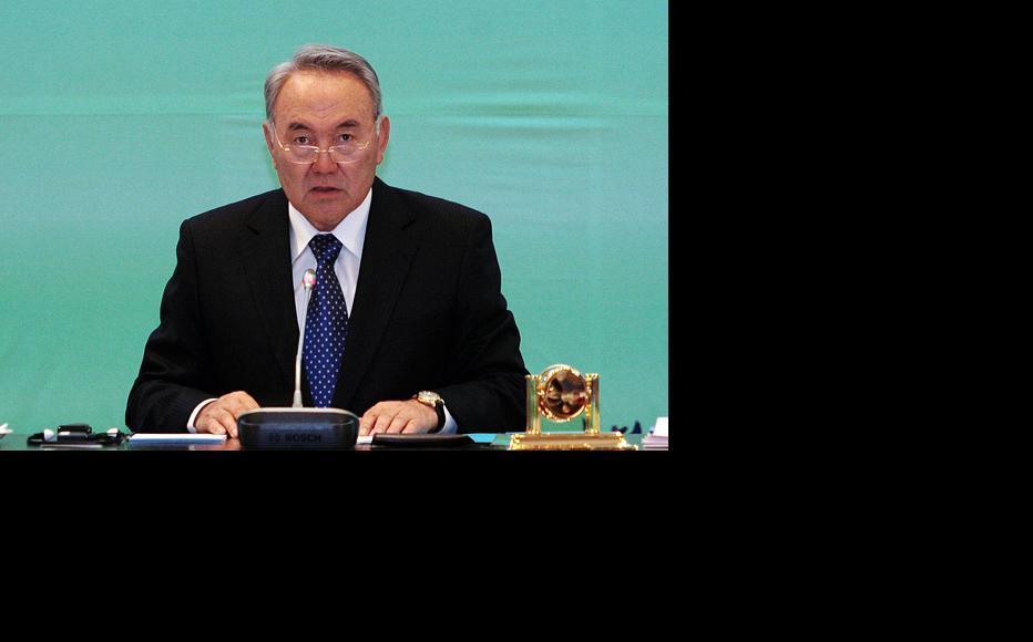 President Nursultan Nazarbaev. (Photo: Serik Kovlanbaev)
