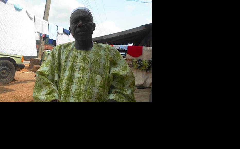 Chief Rafiu Magbeje. (Photo: Hannah Ojo)