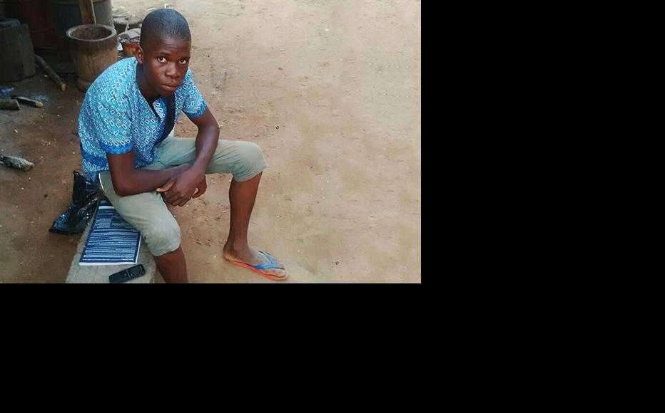 Namino Jonathan was never even told what his crime was supposed to be. (Photo: Chinedu Ekeja)