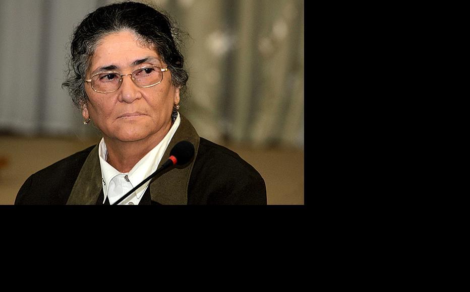 Oinikhol Bobonazarova, the joint opposition candidate in the Tajik presidential election. (Photo: Galim Faskhutdinov)