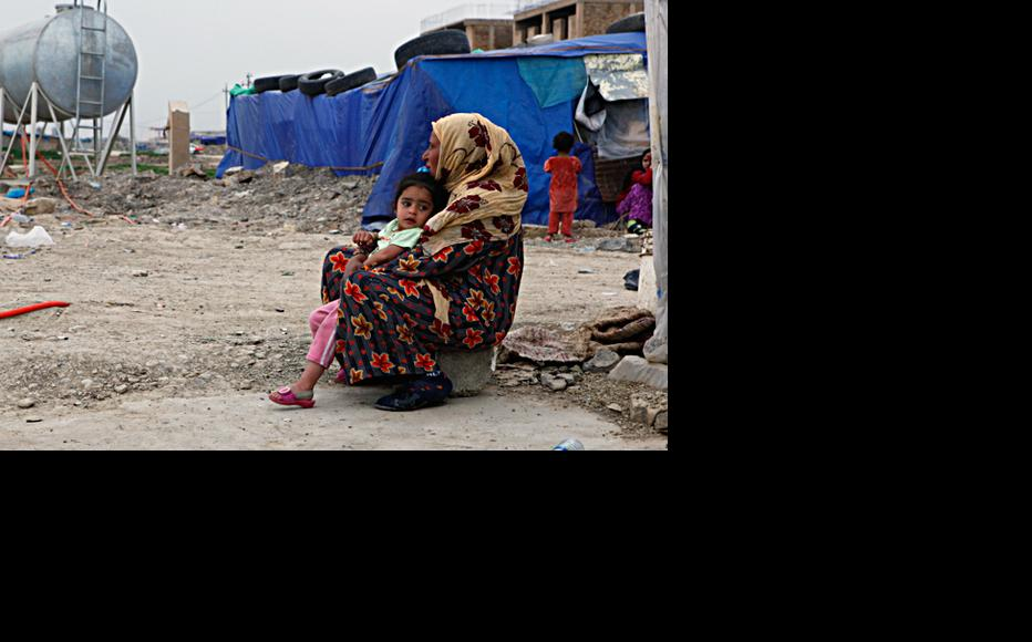 Squatter camps such as this one outside the city of Suleimaniyah are on the rise across Iraq, according to new reports from international aid agencies. (Photo: Tracey Shelton)