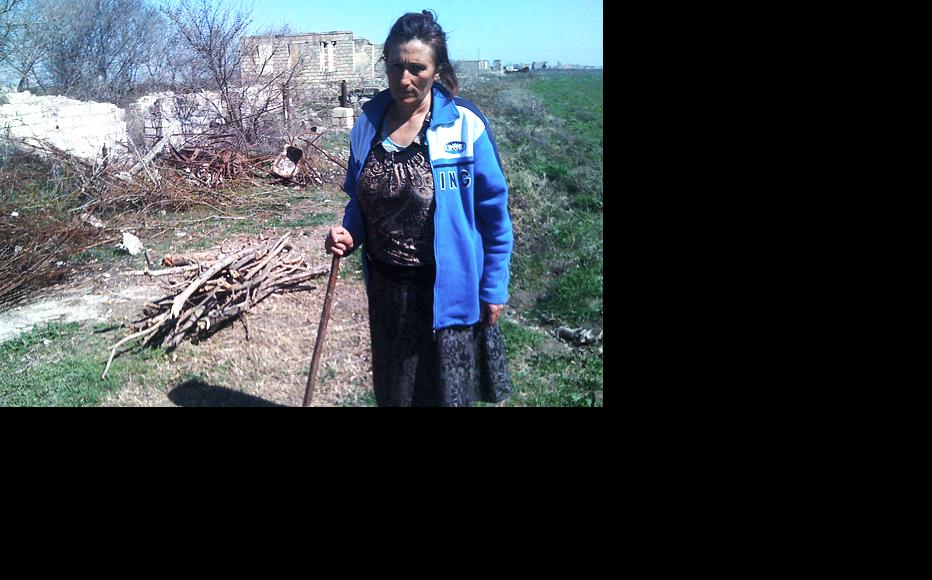 About 360 people live in Aghdam, and are mainly involved in farming. It is one of the few places in Karabakh without electricity, and residents light their homes with candles and heat them with wood stoves. (Photo: Lusine Musayelyan)