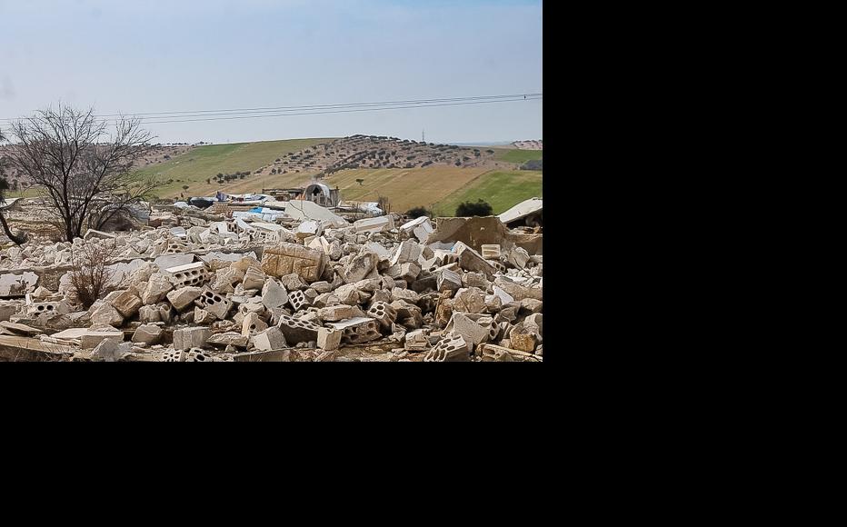 The village of Bseida once stood here. (Photo: Ali Dandoush)