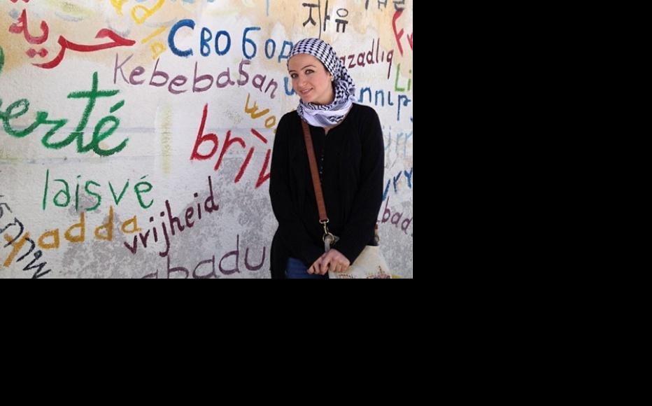 Zaina Erhaim in Aleppo, Syria. (Photo courtesy of Zaina Erhaim)