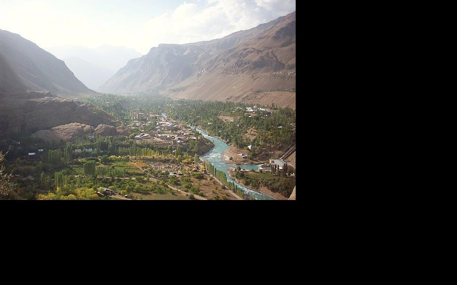 Khorog is the administrative centre of Badakhshan, a high-altitude region in southeast Tajikistan. (Photo: Zack Knowles/Wikimedia Commons)
