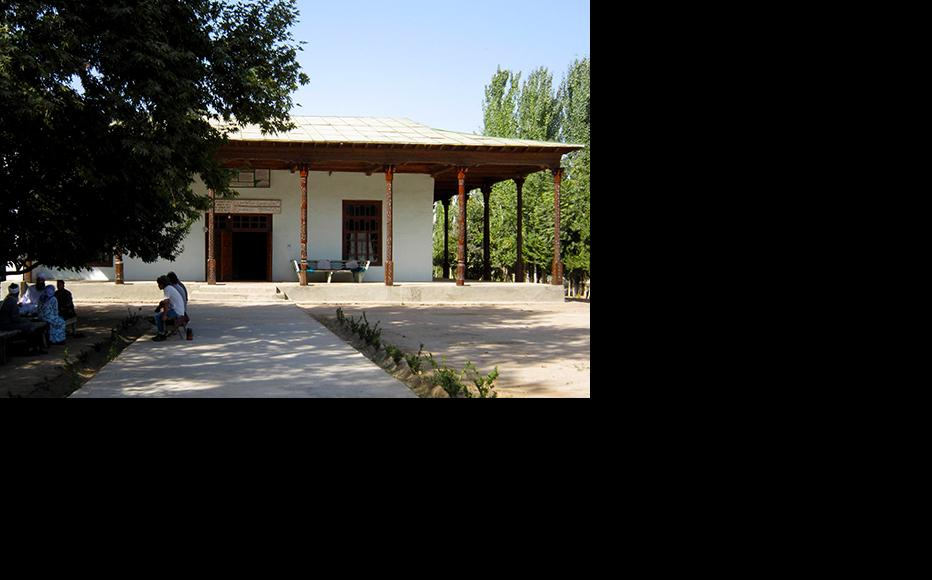 An unregistered mosque in the Vakhsh valley which has since been closed. (Photo: IWPR Central Asia)