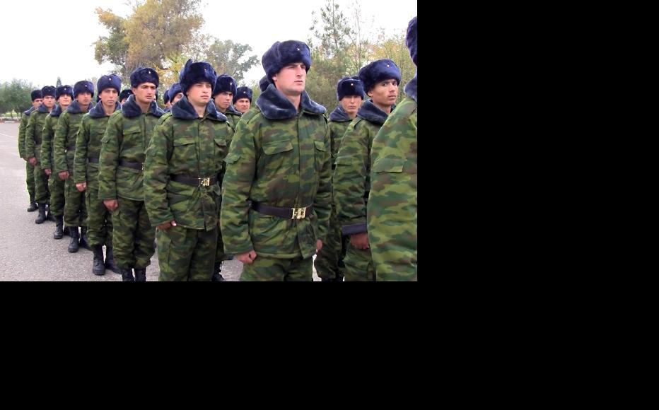 Tajik army soldiers. (Photo: Shodmon Holov)
