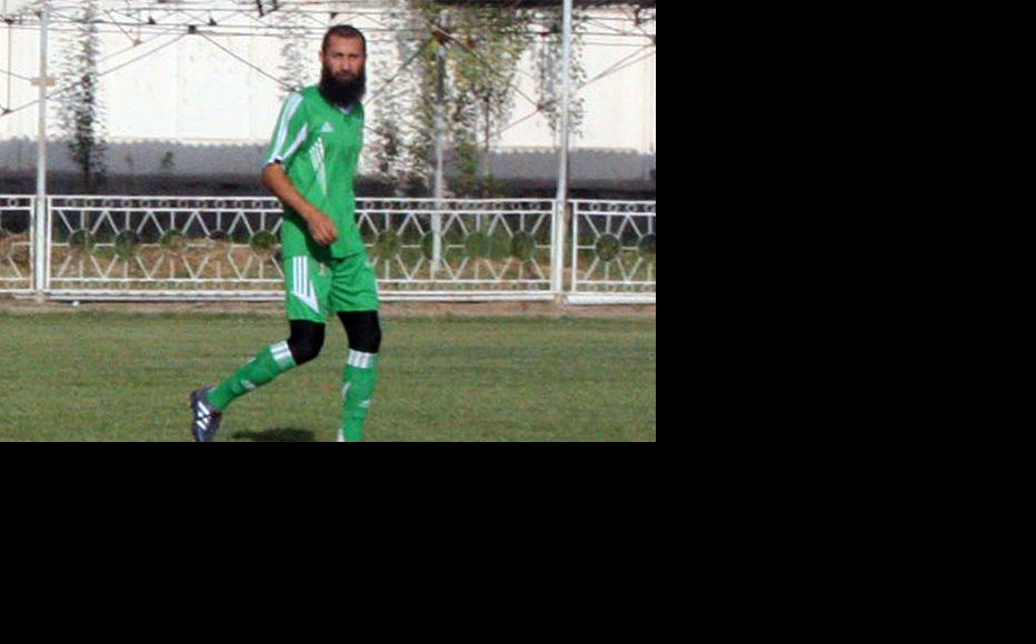 Parviz Tursunov, a former football player. (Photo courtesy of RFERL Tajik service)