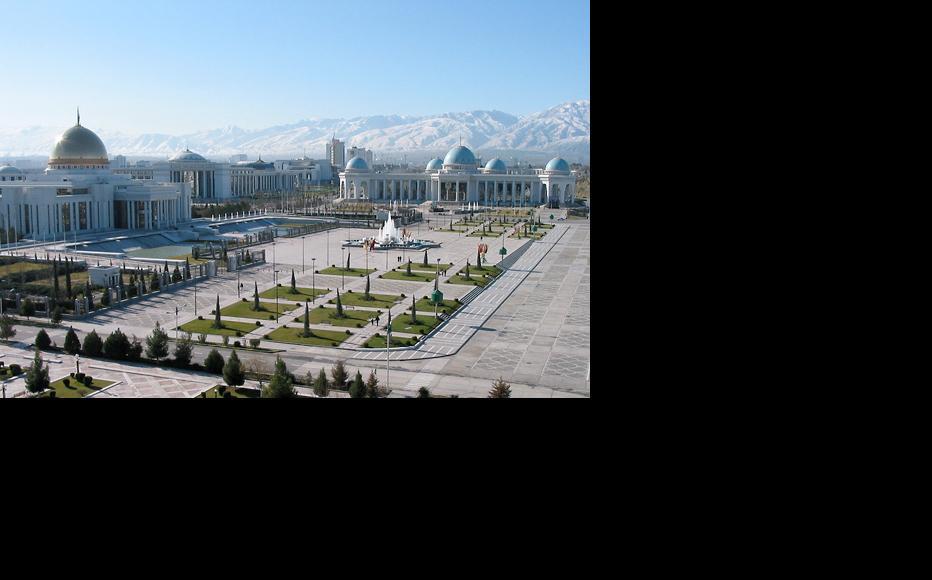 Ashgabat, capital of Turkmenistan. (Photo: Cercamon/Flickr)