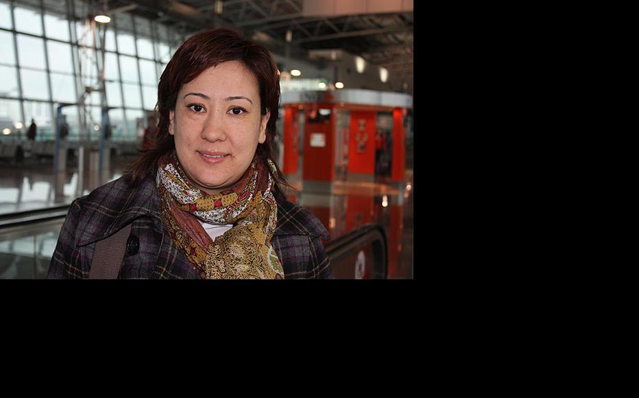 Umida Niazova, a human rights defender from Uzbekistan now living in Germany. (Photo: Umida Niazova)
