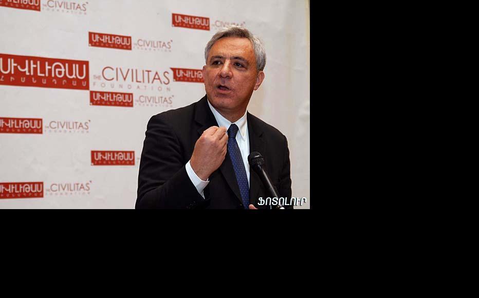Vartan Oskanian, former Armenian foreign minister and now Prosperous Armenia parliamentarian. (Photo: Photolur)