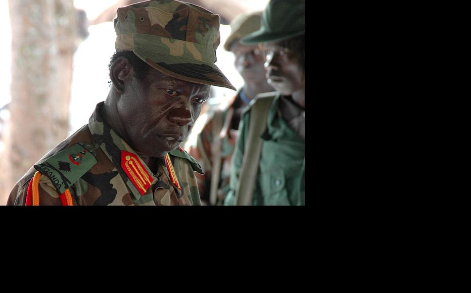Vincent Otti, the late deputy leader of the Lord's Resistance Army. Uganda has its own war crimes court but it only has a mandate to investigate one side of the LRA conflict. (Photo: Euan Denholm/IRIN)