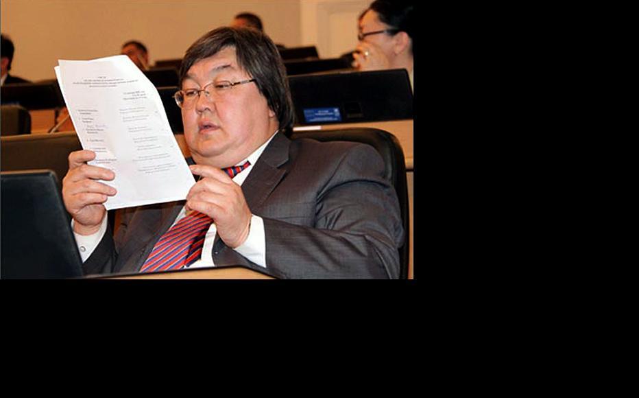 Zainidin Kurmanov. (Photo: Kyrgyz parliamentary press office)