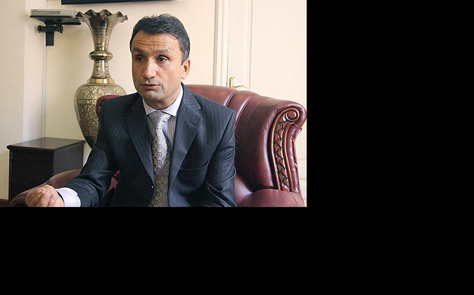 Zayd Saidov. (Photo: Elita magazine)