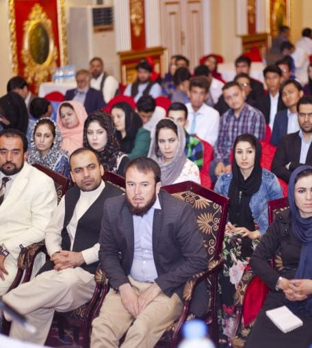 IWPR organised debate, Kabul 20 September 2016.
