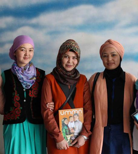 Photo courtesy of UMMA, Islamic magazine in Kyrgyzstan.
