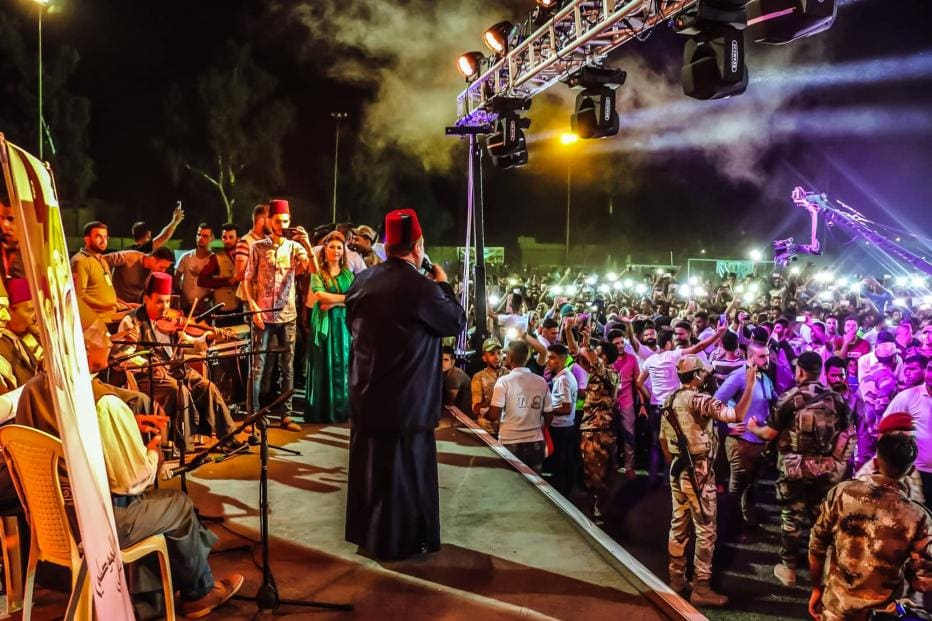 A Peace Festival was held in Mosul weeks after IS was ousted.