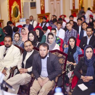 IWPR organised debate, Kabul 20 September 2016.
