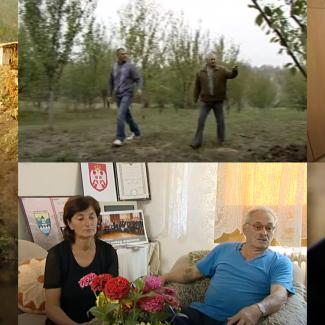Stills from Ordinary People, a series of short TV documentaries about strong individuals from Bosnia and Herzegovina.