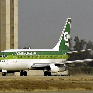 Legal wrangle: an Iraqi airlines 737-200 taxis in front of the control tower at Baghdad International Airport on Jan. 29, 2008. (Photo: U.S. Army photo by Sgt. Jerry Saslav)