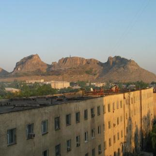 Osh, scene of worst bloodshed in Kyrgyzstan for 20 years. (Photo by Christian Gawron http://go.iwpr.info/osh)