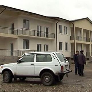 Houses in the village of Dranda built for Abkhaz refugees from Syria: (Photo: Nizfa Arshba)