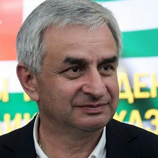 Raul Khajimba, Abkhazia''s new president. (Photo: Ibragim Chkadua)