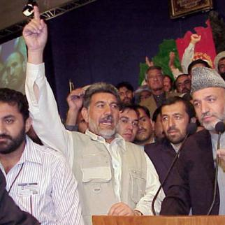 A previous loya jirga, held in 2002, confirmed Hamed Karzai as Afghan president. (Photo: US State Department)