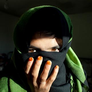 Bamiyan shelter and safe house cares for battered Afghan women. (Photo: Paula Bronstein/Getty Images)