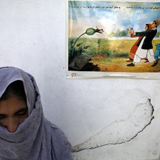 A former drug addict at the Sanga Amaj Drug Treatment Center in Kabul. (Photo: Paula Bronstein/Getty Images)