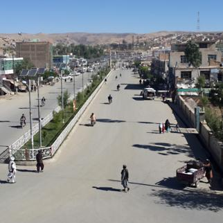 Capital of Ghor - one of Afghanistan's most underdeveloped provinces. (Photo: Hassan Hakimi)