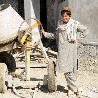 Many small business in host are situated in residential areas, causing widespread pollution. (Photo: U.S. Air Force Tech. Sgt. Matthew D. Lohr, PRT Khost Public Affairs Office)